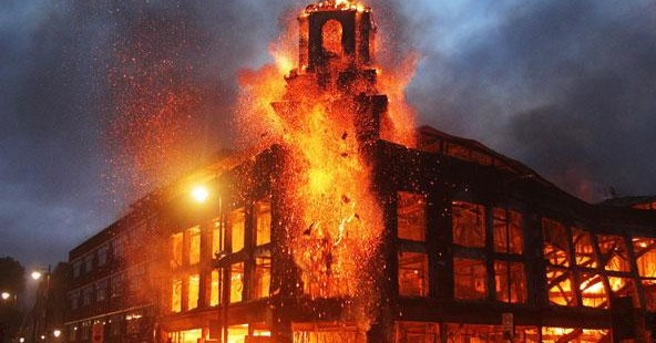 Why London Is Burning (Hint: It's Not Just Thugs)