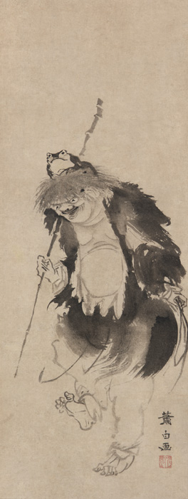 Gamma Senmin, Soga Shōhaku (1730-1783). Freer Collection, Washington.