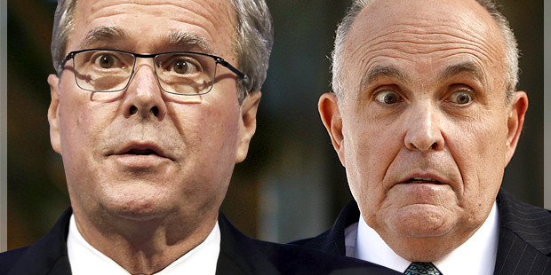 Rudy Giuliani's dangerous game: Jeb Bush, patriotic lies, and the truth about American exceptionalism