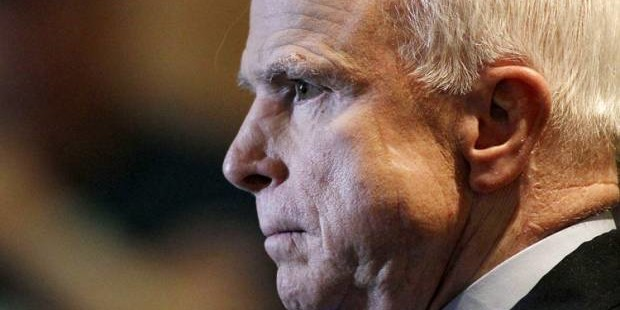 John McCain, cranky, warmongering madman, again: Why does the New York Times print these lunatic ravings?