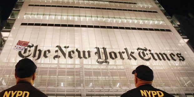 """A corrosive dereliction of duty"": Why the New York Times' America-first journalism is so dangerous"