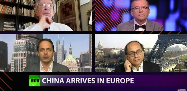 VIDEO - CrossTalk: China Arrives in Europe