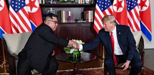 PATRICK LAWRENCE: Trump's Creaky Door to Peace in the Koreas
