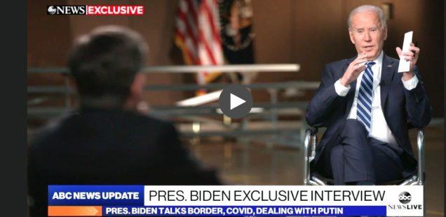 PATRICK LAWRENCE: The Blundering Biden Team